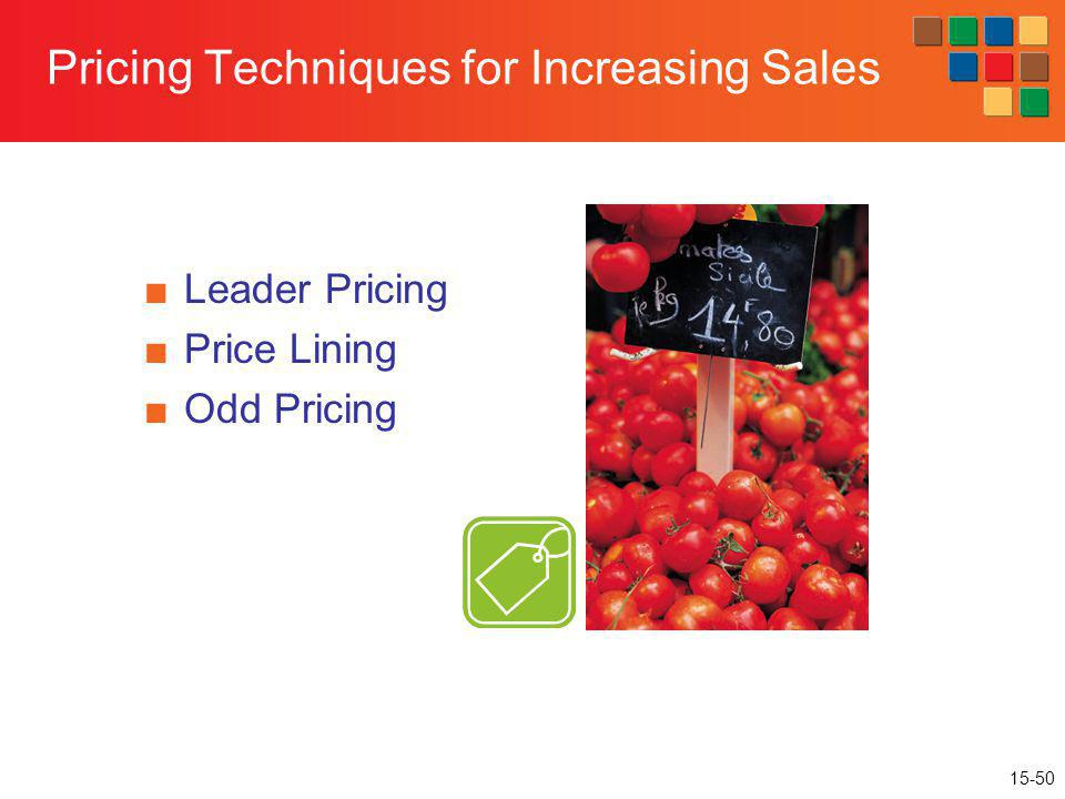 Pricing Techniques for Increasing Sales