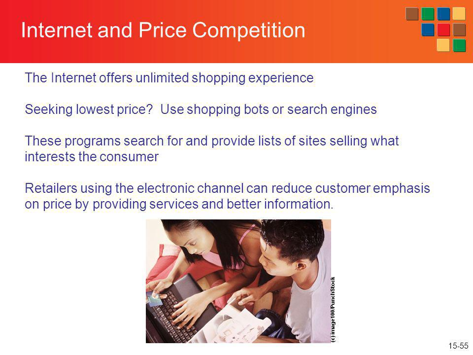 Internet and Price Competition