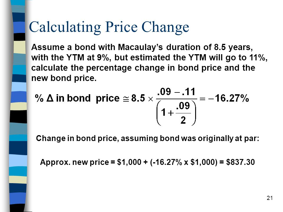 Calculating Price Change