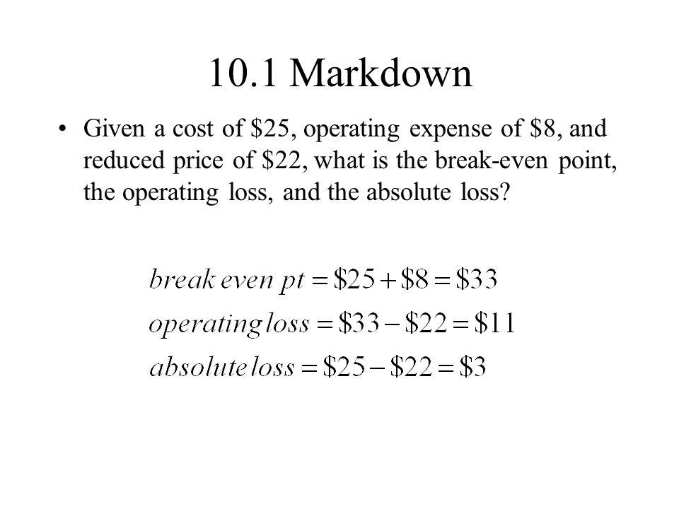 10.1 Markdown