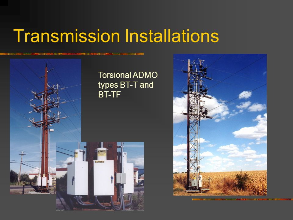 Transmission Installations