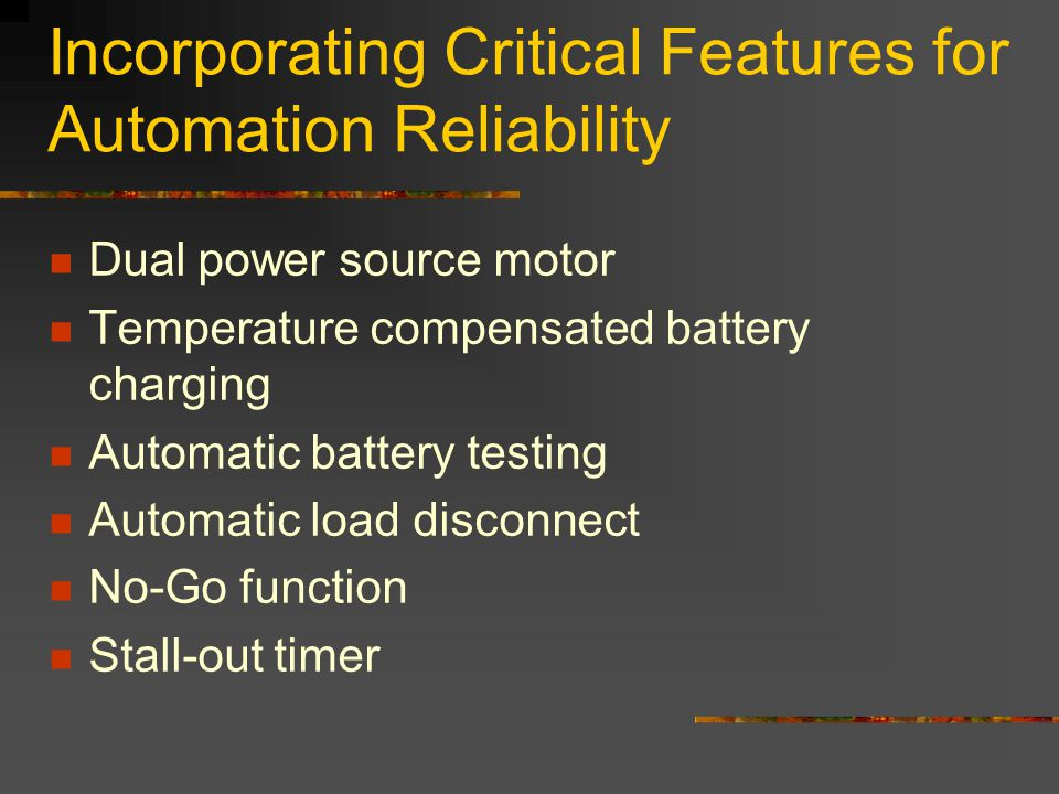 Incorporating Critical Features for Automation Reliability