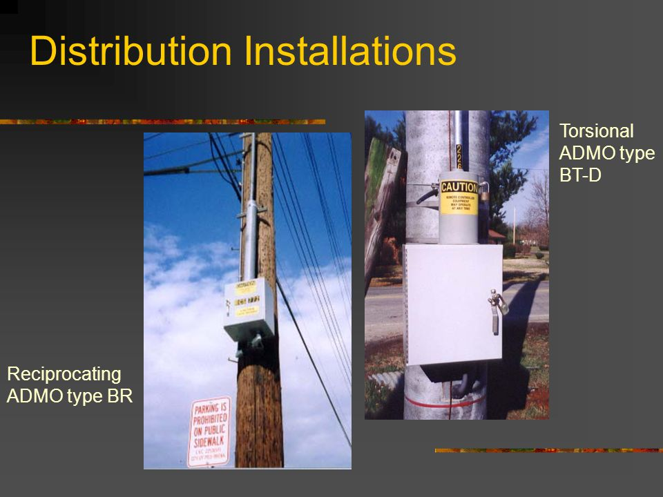 Distribution Installations