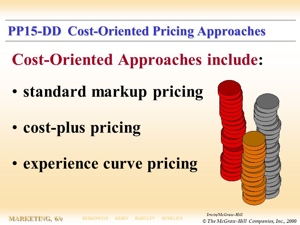 PP15-DD Cost-Oriented Pricing Approaches