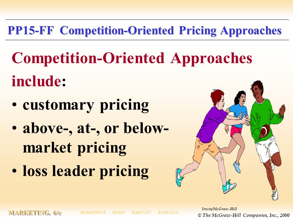 PP15-FF Competition-Oriented Pricing Approaches