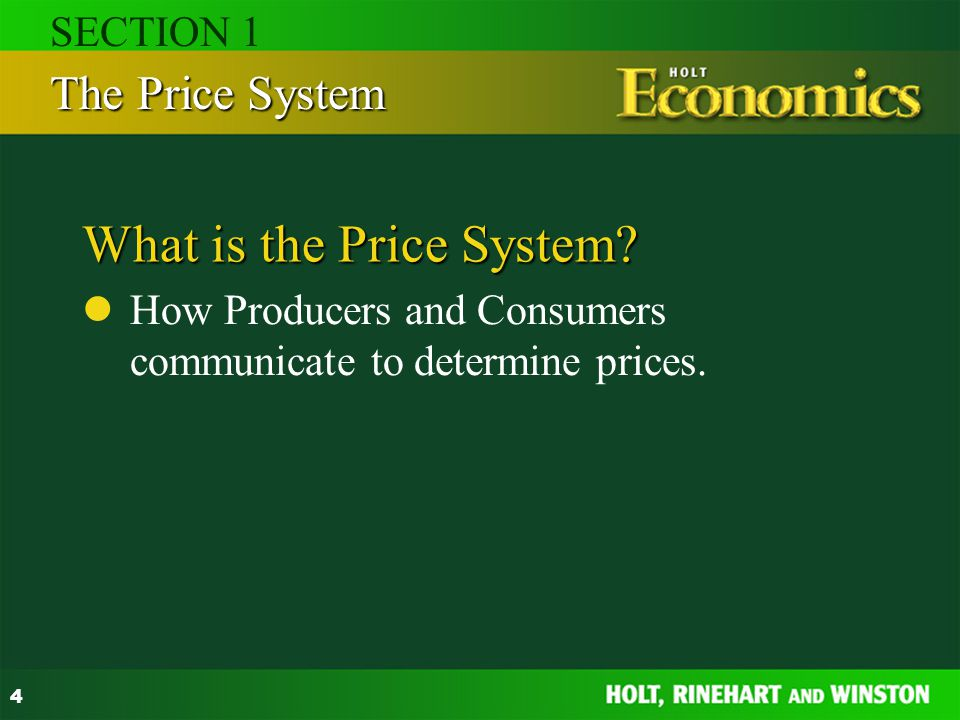 What is the Price System