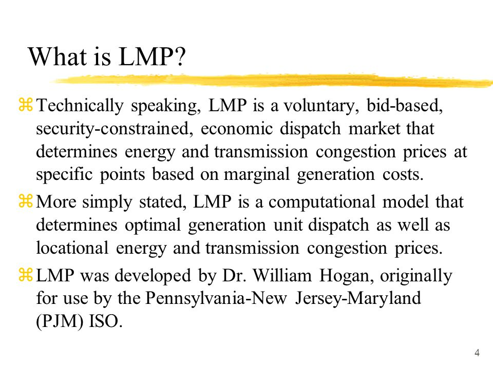 What is LMP