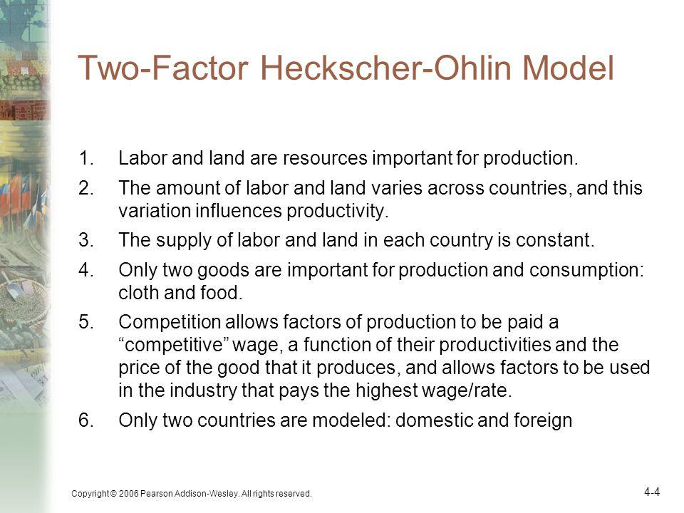 Two-Factor Heckscher-Ohlin Model