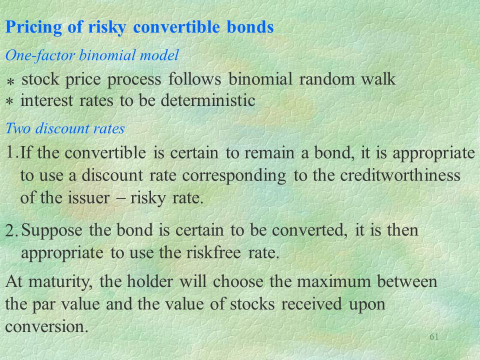 Pricing of risky convertible bonds