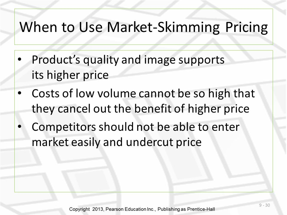 When to Use Market-Skimming Pricing