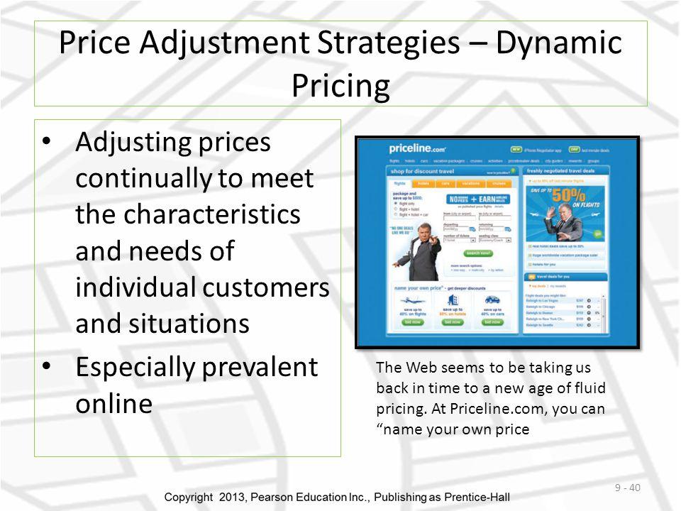 Price Adjustment Strategies – Dynamic Pricing