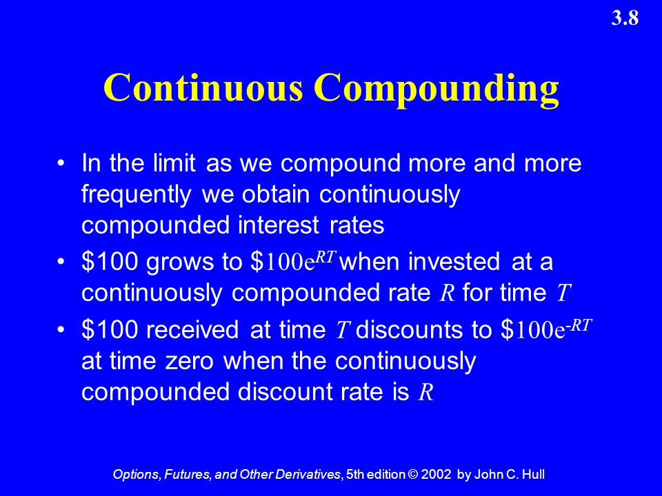Continuous Compounding