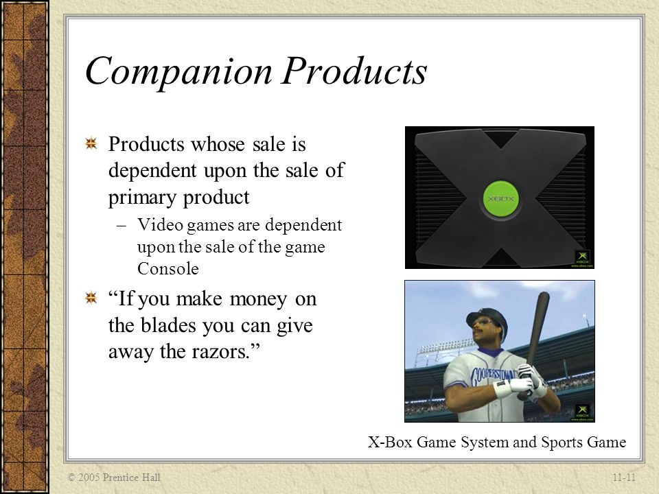 X-Box Game System and Sports Game
