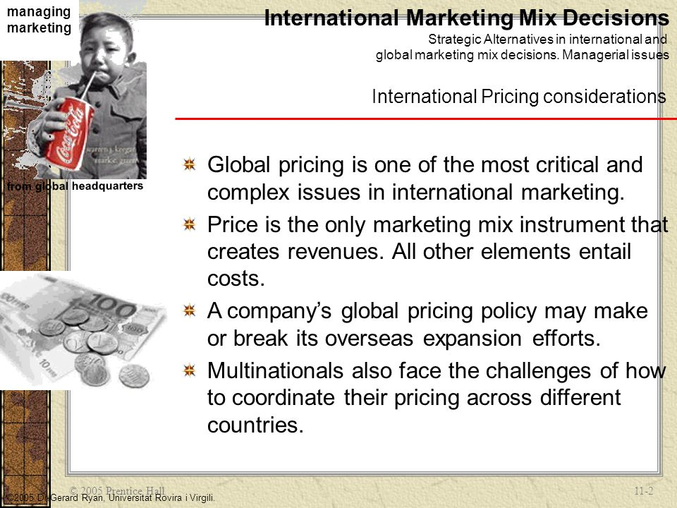 International Marketing Mix Decisions