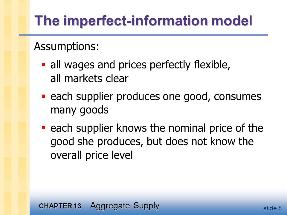 The imperfect-information model