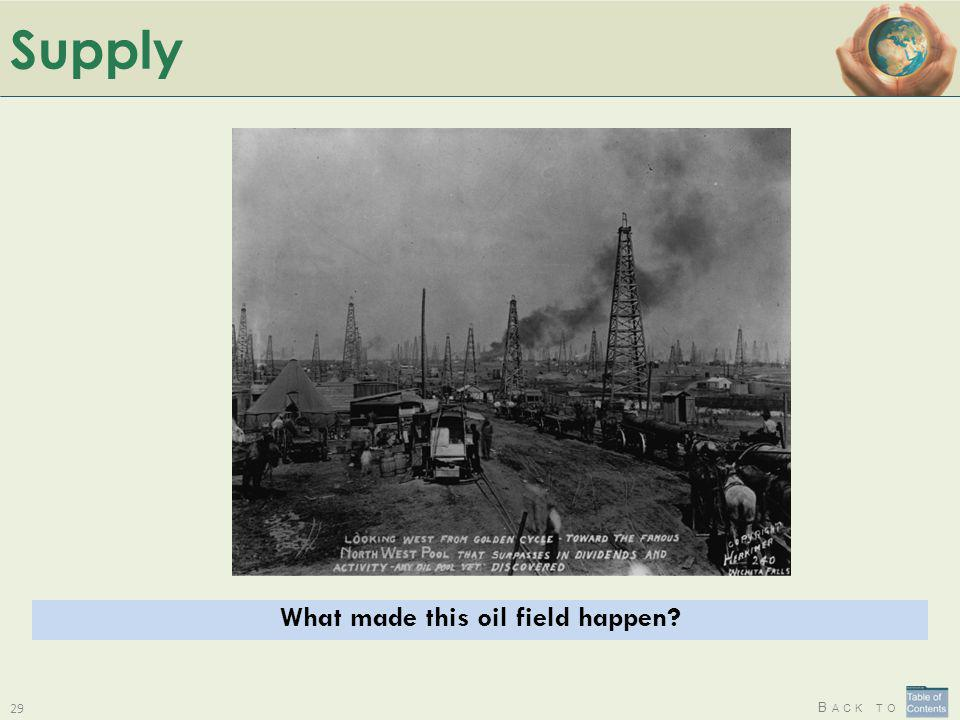 What made this oil field happen