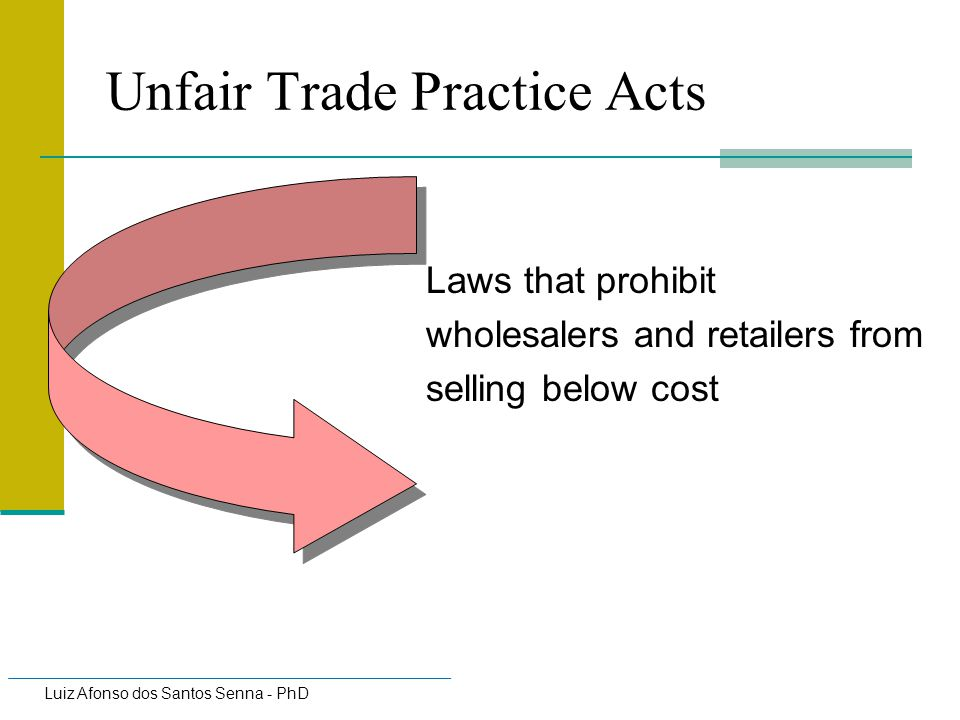 Unfair Trade Practice Acts
