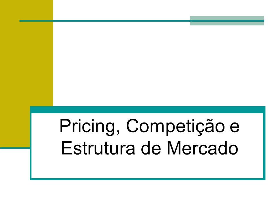 Pricing, Competição e Estrutura de Mercado