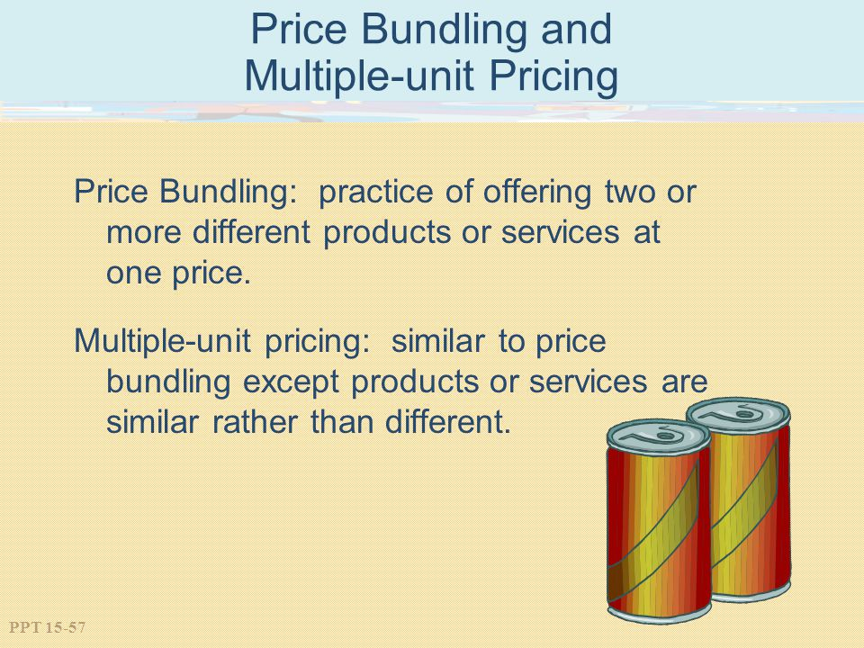 Price Bundling and Multiple-unit Pricing