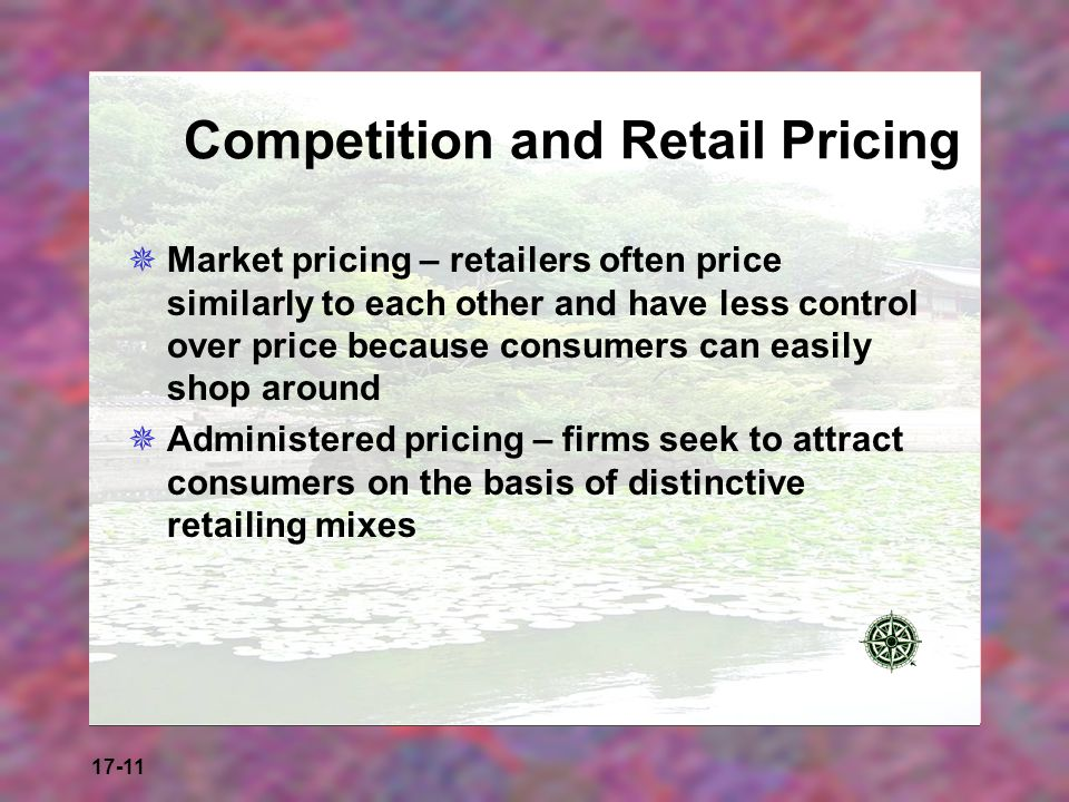 Competition and Retail Pricing
