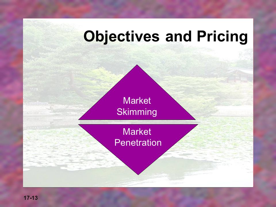 Objectives and Pricing