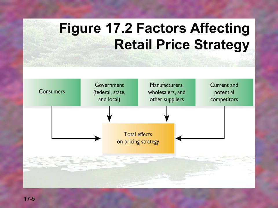 Figure 17.2 Factors Affecting Retail Price Strategy