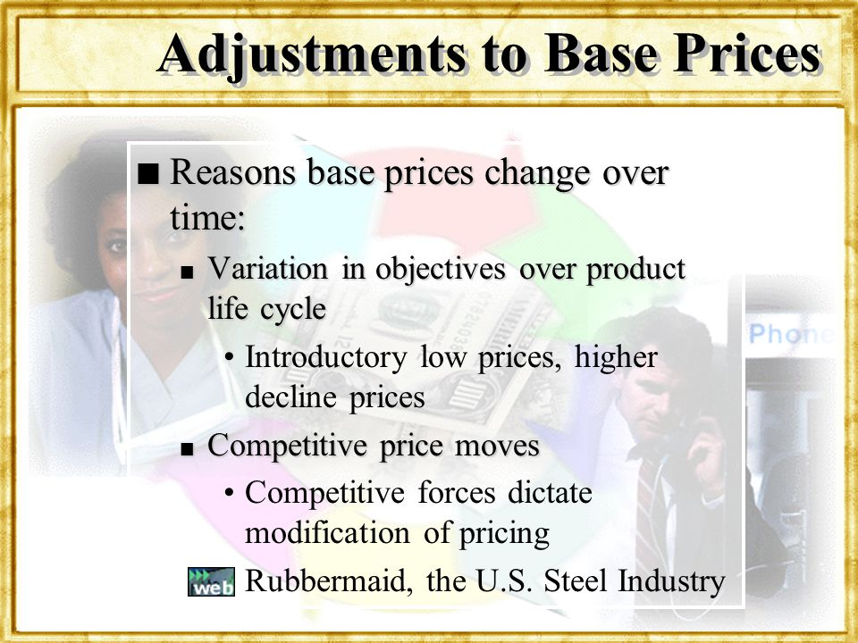 Adjustments to Base Prices