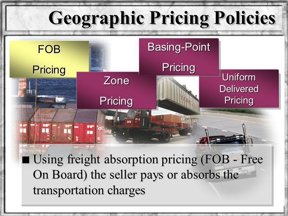 Geographic Pricing Policies