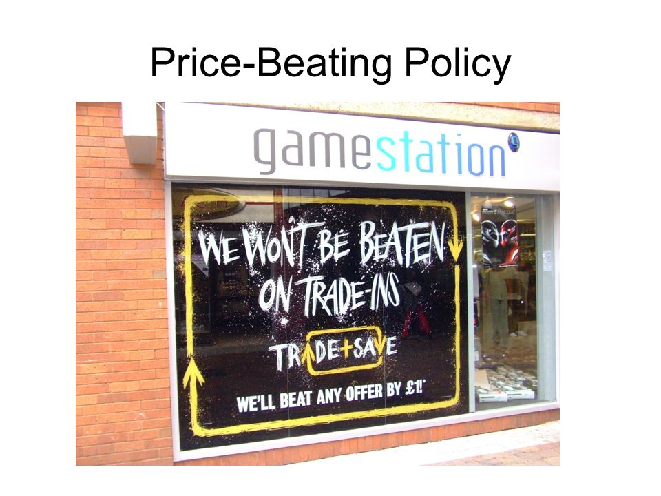 Price-Beating Policy
