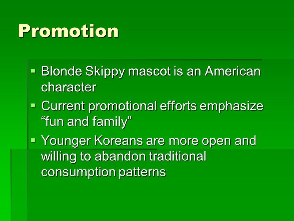 Promotion Blonde Skippy mascot is an American character