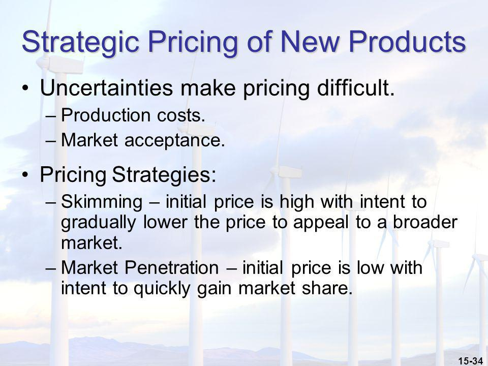 Strategic Pricing of New Products