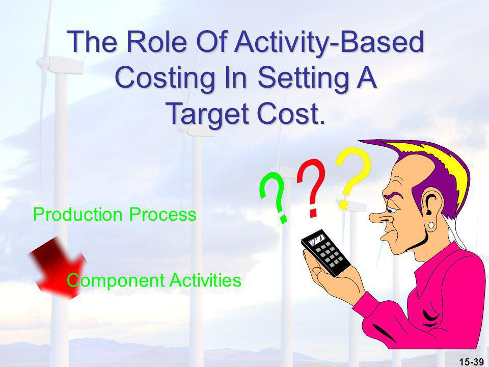 The Role Of Activity-Based