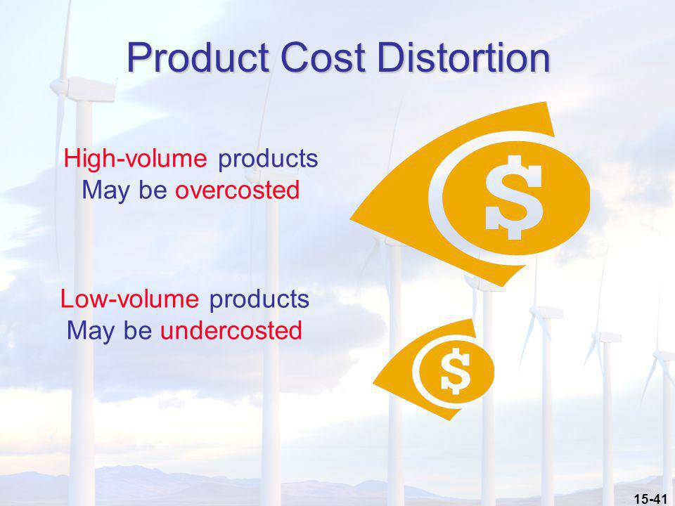 Product Cost Distortion