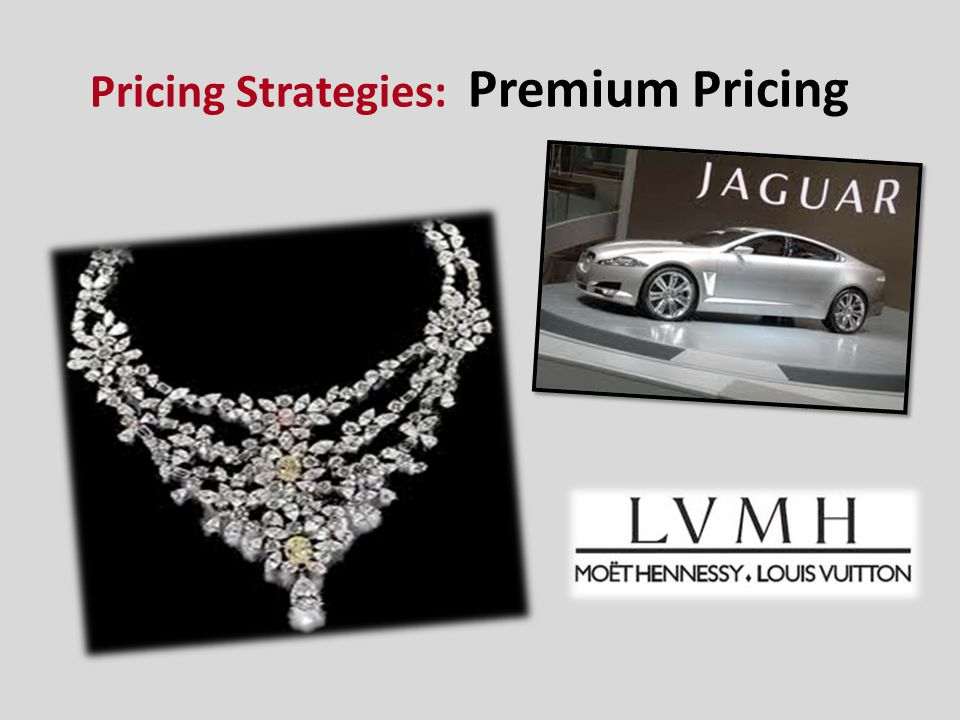 Pricing Strategies: Premium Pricing