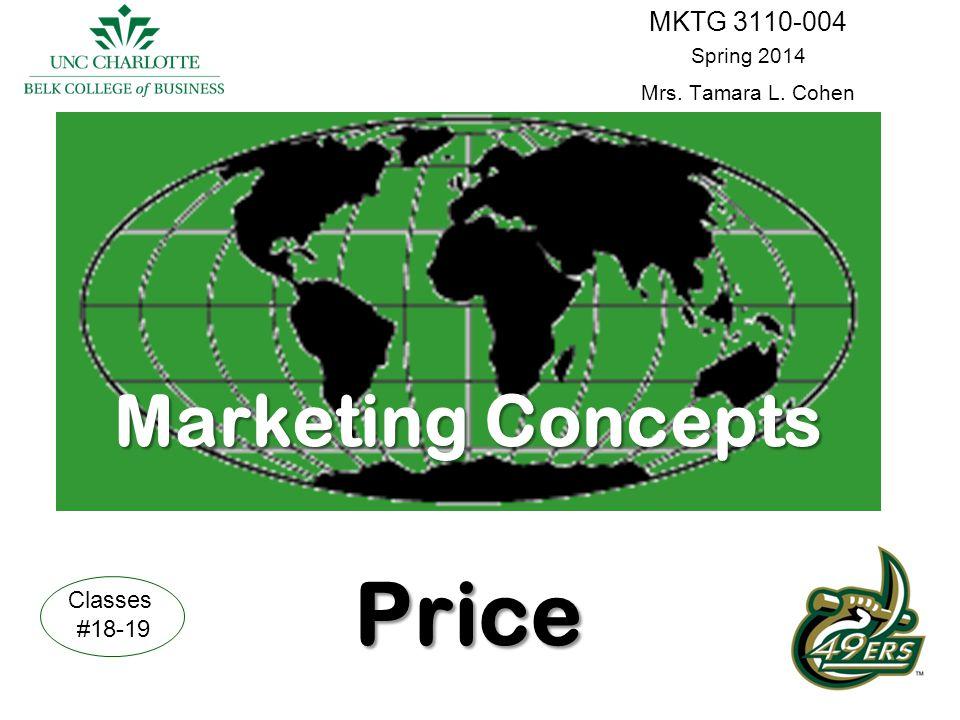 Marketing Concepts Price