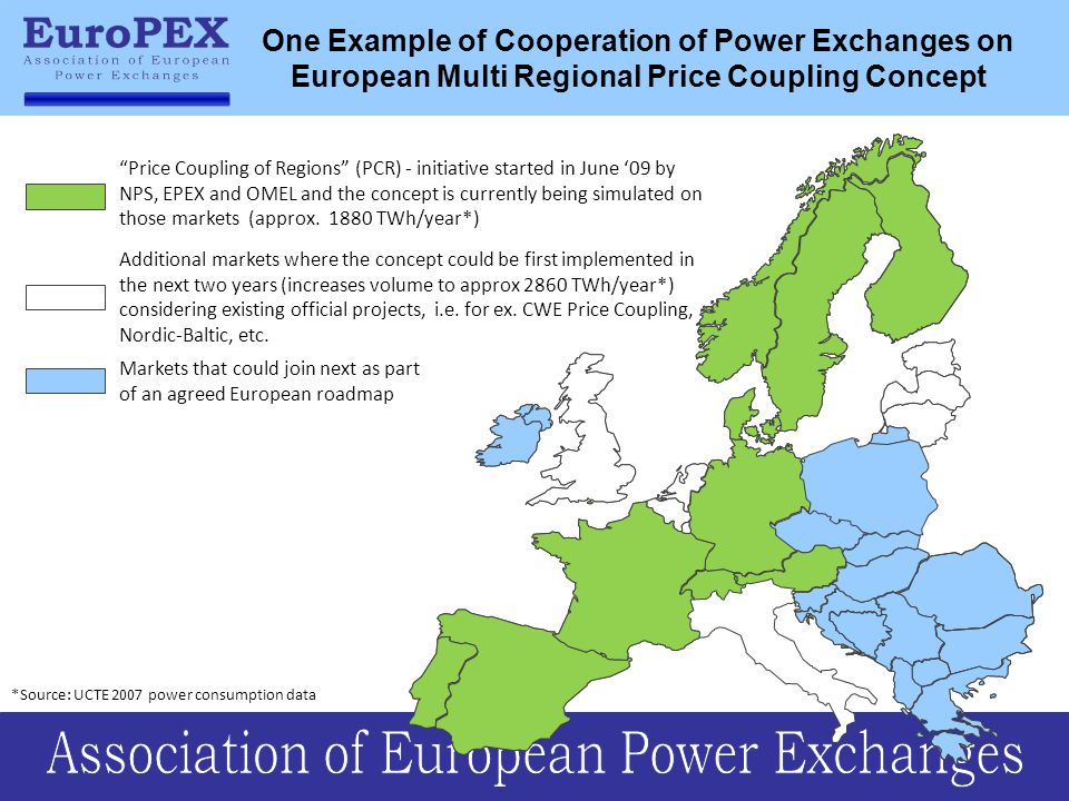 One Example of Cooperation of Power Exchanges on European Multi Regional Price Coupling Concept
