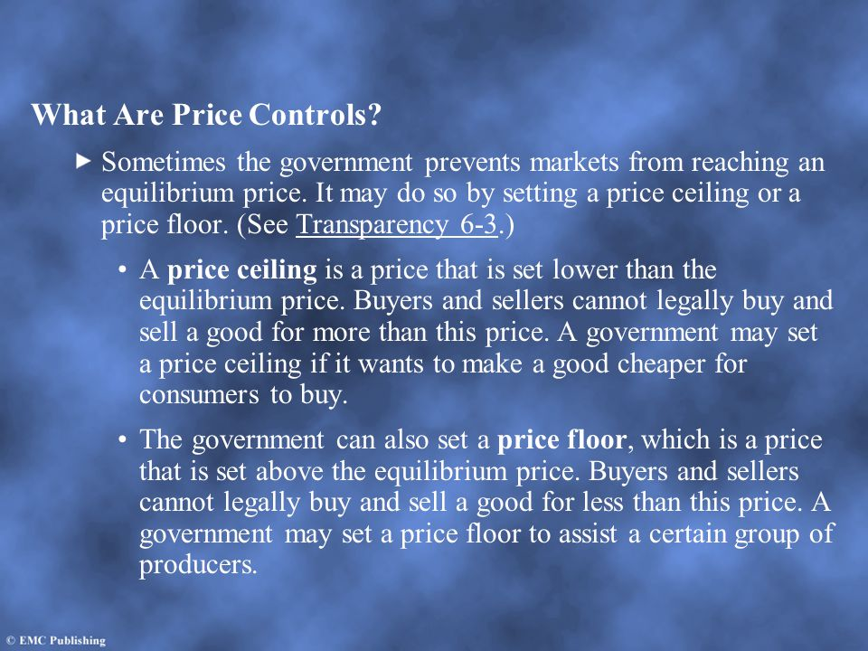 What Are Price Controls