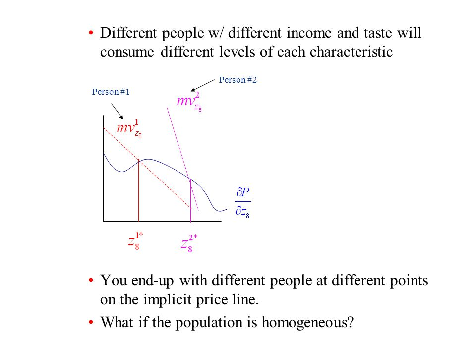 What if the population is homogeneous