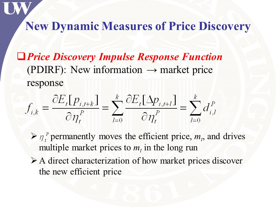 New Dynamic Measures of Price Discovery