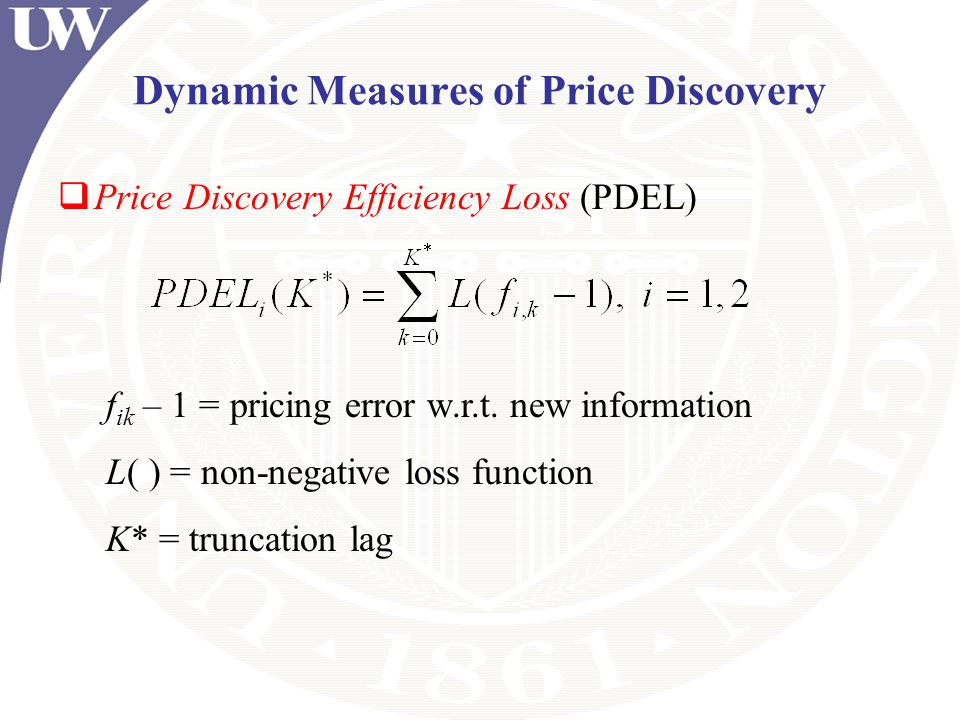 Dynamic Measures of Price Discovery