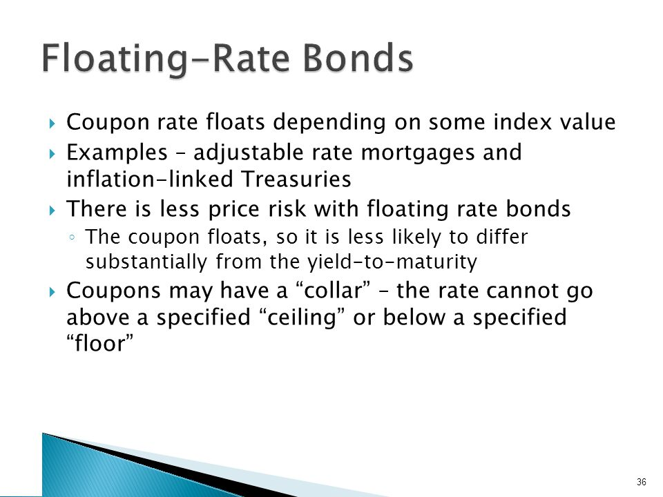 Other Bond Types Disaster bonds Income bonds Convertible bonds