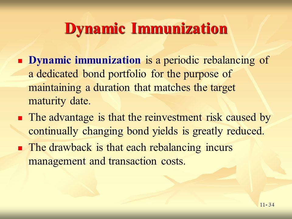 Dynamic Immunization