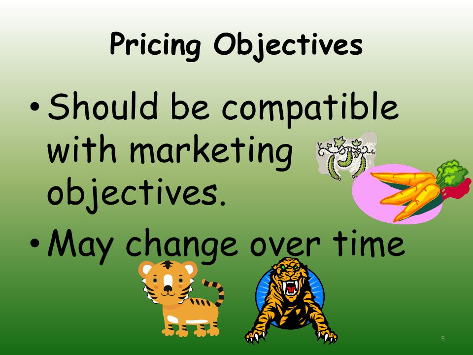 Should be compatible with marketing objectives.