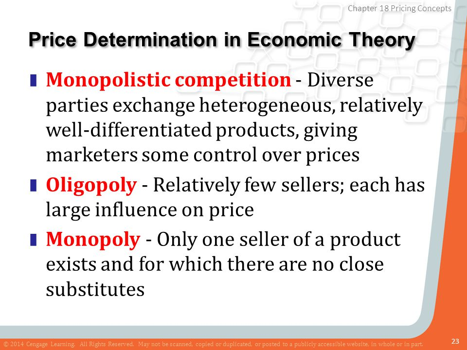 Price Determination in Economic Theory