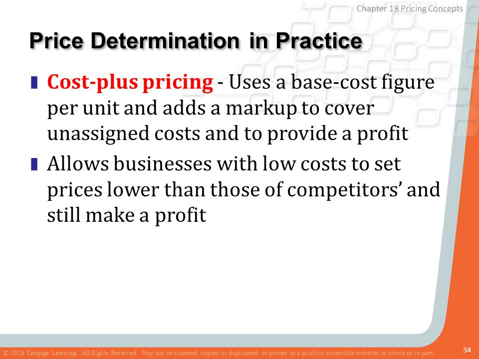 Price Determination in Practice