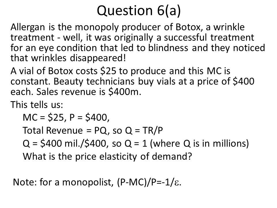 Question 6(a)