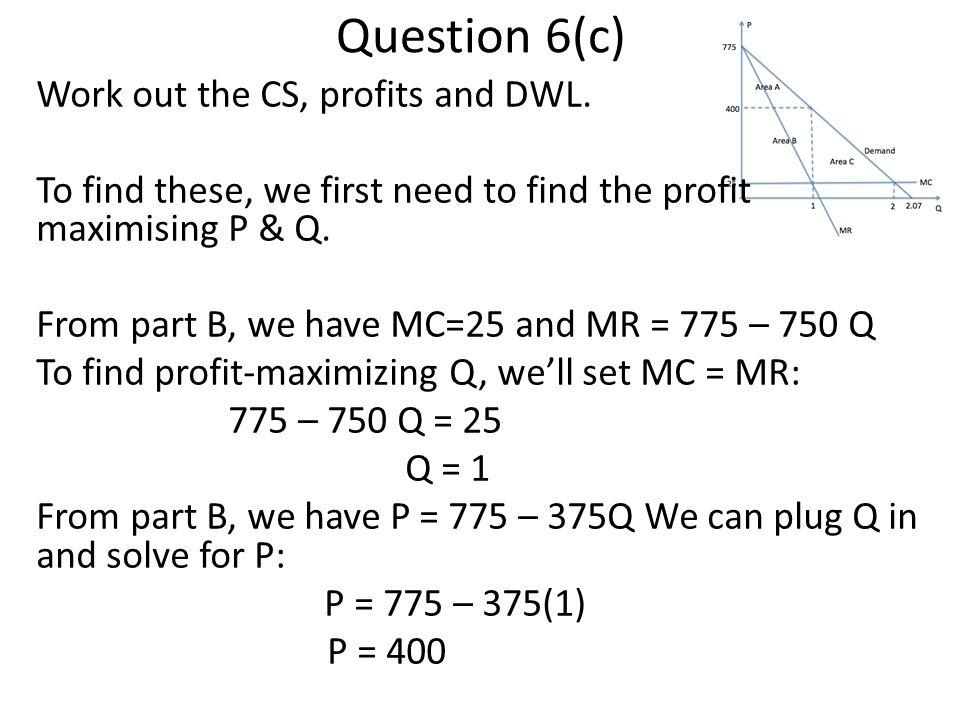 Question 6(c)