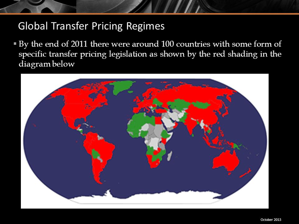 Global Transfer Pricing Regimes