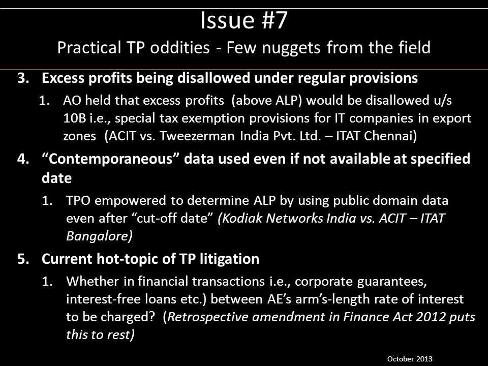 Issue #7 Practical TP oddities - Few nuggets from the field