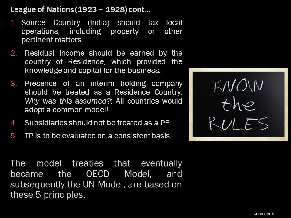 League of Nations (1923 – 1928) cont…